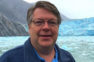 Dave at the Sawyer Glacier
