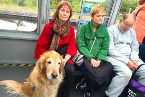 Terrianne, Carol & Rick enjoy a Scottish tour