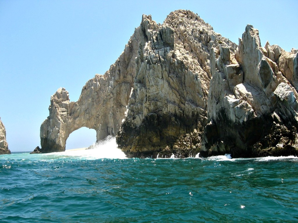 Land's End El Arco rock formations at Cabo San Lucas, Mexico