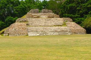 Tallun Ha Mayan pyramid and ruins near Belize City