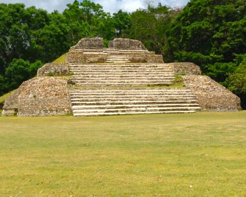 Mayan pyramid in Central America